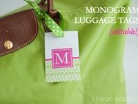 Monograms, the personal touch