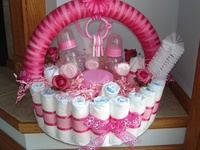 Gift Baskets/Diaper Cakes