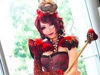 alice red queen cheshire cat yaya cosplay facebook cover