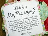 Mug Rug Happiness!