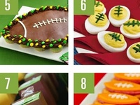 Food for football fans