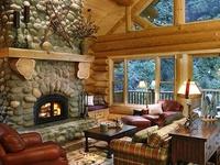 Cozy Cabins, Warm Wood & Rustic Charm