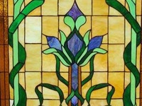 stained, glass