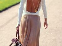 Fabulous, simple and clean fashion