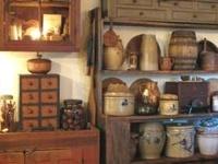 Primitive, Country, Folk Art & Americana