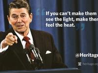 President Ronald Wilson Reagan & First Lady Nancy Reagan