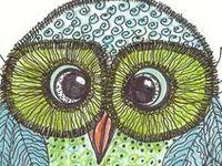 Tekenlesidee uilen * owls