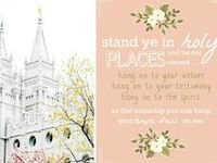 A collection of LDS church ideas for Young Women's, Relief Society, Primary, Family Home Evening and more!