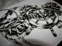 Tattoo sketches and drawings