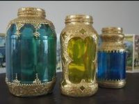 mostly altered jars and bottles, but some other ideas thrown in