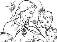 mary coloring pages catholic church - photo#39