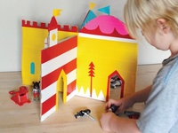 Got a cardboard box? The possibilities for creative play time fun are endless!