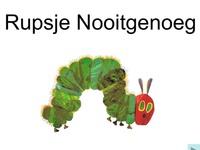 Very Hungry Caterpillar/Rupsje Nooitgenoeg