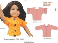 Doll- American Girl; patterns