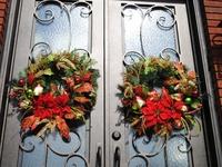 Wreaths And Door Art
