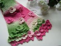 Scarves ~ Shawls ~ Wraps: Crocheted
