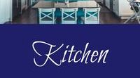 Kitchen / Kitchen ideas - boho / retro / eclectic / colourful ideas for updating your kitchen.  Kitchen makeovers & remodels.  Storage solutions for tiny kitchens.  Kitchen organisation.  Kitchen design.  Kitchen accessories.