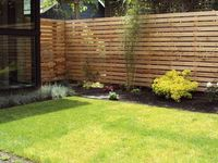 garden fence, palisade, wall, privacy