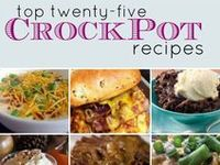 Tasty slow cooked meals from our website - www.getcrocked.com Happy Crocking!