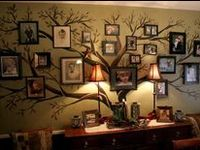 Ideas for photo's/pictures and art projects for your walls.  Most are DIY projects.