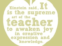 Quotes and articles that inspire the love of learning and teaching :)