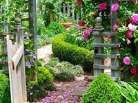 Garden paths, gates and byways