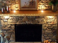 Image Result For Cottage Style Fireplace Mantelsa