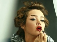 and also make-up