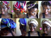 African-Headwraps,Turbans,Scarves