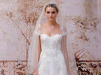 Mish mash of lace wedding dress loveliness