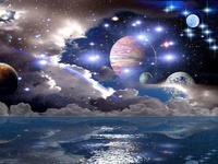 THE UNIVERSE....OUT IN SPACE