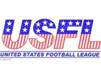 This was a league that was born after the 1982 NFL Srike. They were in existance from 1983 through 1985. Originally a summer alternate league, they began to challenge the NFL by moving play to the fall and that, among other reasons, killed the USFL.