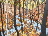 Mosaics, glass items, stained glass - all art styles