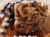 Crafting with burlap, jute, twine & feed sacks.