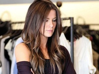 Beautiful hairstyles for long hair. #Ombre #Brunette #Blonde