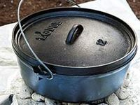 Summer 2014… I'm starting my new Dutch Oven Hobby, and I'll share recipes and tips here!  LODGE Dutch Ovens are what I'll be using. They are, hands down, the best Dutch Oven out there!