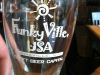 We are blessed here in this little mountain town called Asheville...  Great restaurants, MicroBrewerys, Biltmore Estate, BlueRidge Parkway, Appalacian Trail, waterfalls galore,and most of all ..... friendly folks.. aka FunkyVilleUSA...  follow us on Twitter @FunkyVilleUSA