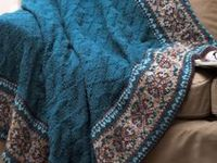 Knitting Blankets on Pinterest | Afghans, Baby Blankets and Ravelry