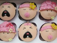 Yummy and Adorable! Anything baby themed and edible!
