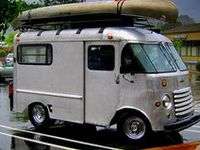 Cool camper and expedition type vans, step vans and buses