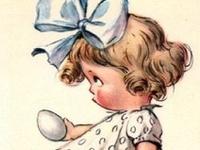 Vintage, retro photos, ephemera of Easter & Spring