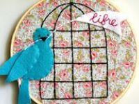 Passarinhos/birds-moldes e idéias