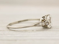Here we pin and re-pin all the wedding rings we can find to help you find your perfect ring!