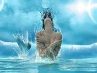 Mermaid maidens
