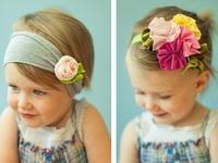 headbands and  bows