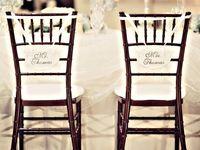 Chiavari Chairs, Chair Covers & Chair Decor