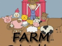 Farm craft and printable activities for kids.