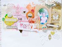 Beautiful and Inspiring Scrapbook Pages