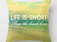 My dream is to be a beach dweller. I will live at the beach someday even if it's in a cute shabby chic camper!