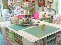 Craft and sewing spaces